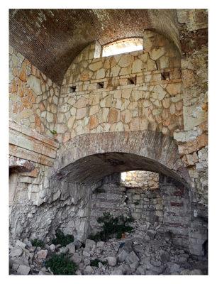 Forte Monte (Mollinary): Die Kellergewölbe