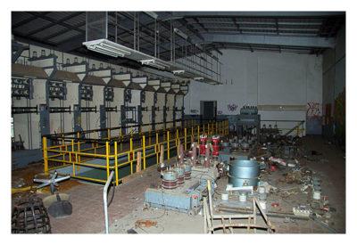 LP: Industrieanlage im Grenzgebiet