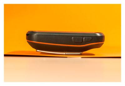 Garmin Oregon 600 - Die Seitenansicht des Gerätes