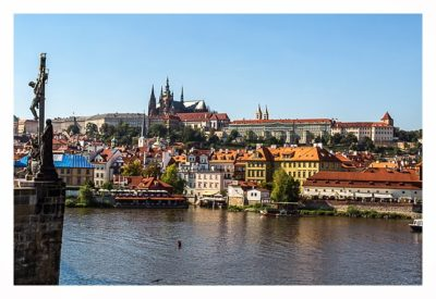 geocaching and sightseeing in prague