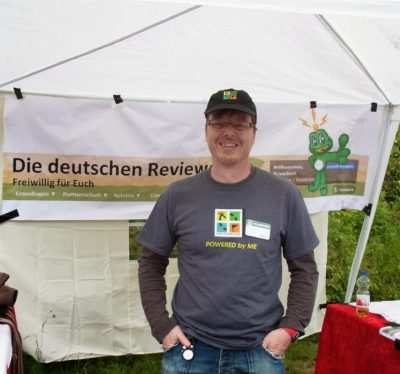 Interview mit dem Reviewer Tupperman