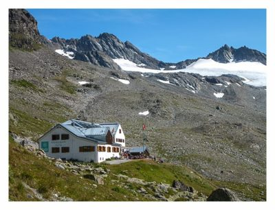Geocaching in der Silvretta - Wiesbadener Hütte