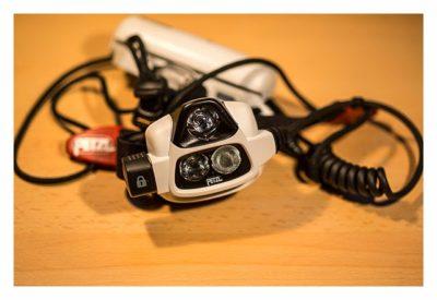 Lampe von Petzl NAO - Mein Test der Stirnlampe