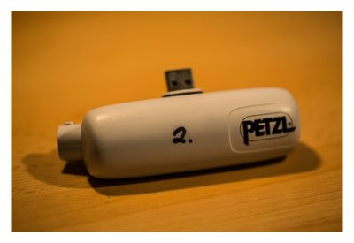 Akku von Petzl NAO - Mein Test der Stirnlampe