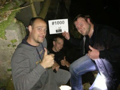 """Das Geocaching-Team """"Team Foundfox's"""", das ich hier im Interview habe..."""