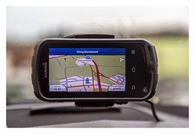 Garmin Monterra Test - Hardware und Zubehör - In Autohalterung