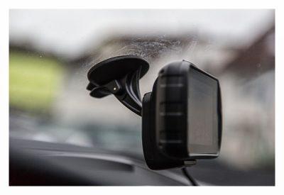 Garmin Monterra Test - Hardware und Zubehör - Autohalterung Detailaufnahme