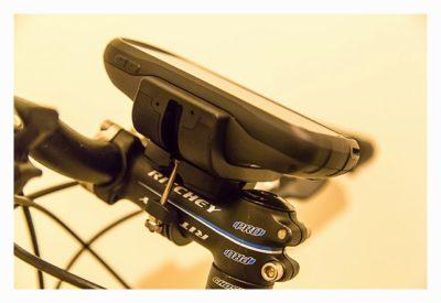 Garmin Monterra Test - Hardware und Zubehör - Fahrradhalterung Detailaufnahme
