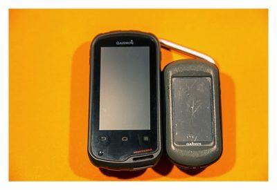 Garmin Monterra Test - Hardware und Zubehör - direkter Vergleich zum Oregon 550