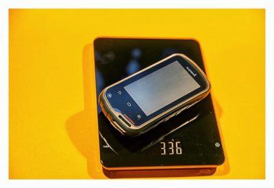 Garmin Monterra Test - Hardware und Zubehör - Gewicht