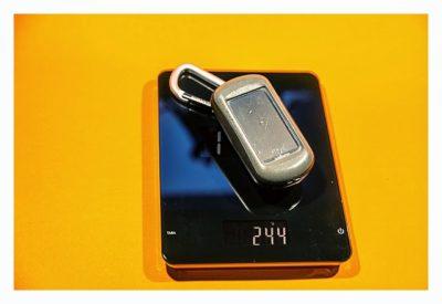 Garmin Monterra Test - Hardware und Zubehör - Gewicht des Oregon 550 als Vergleich