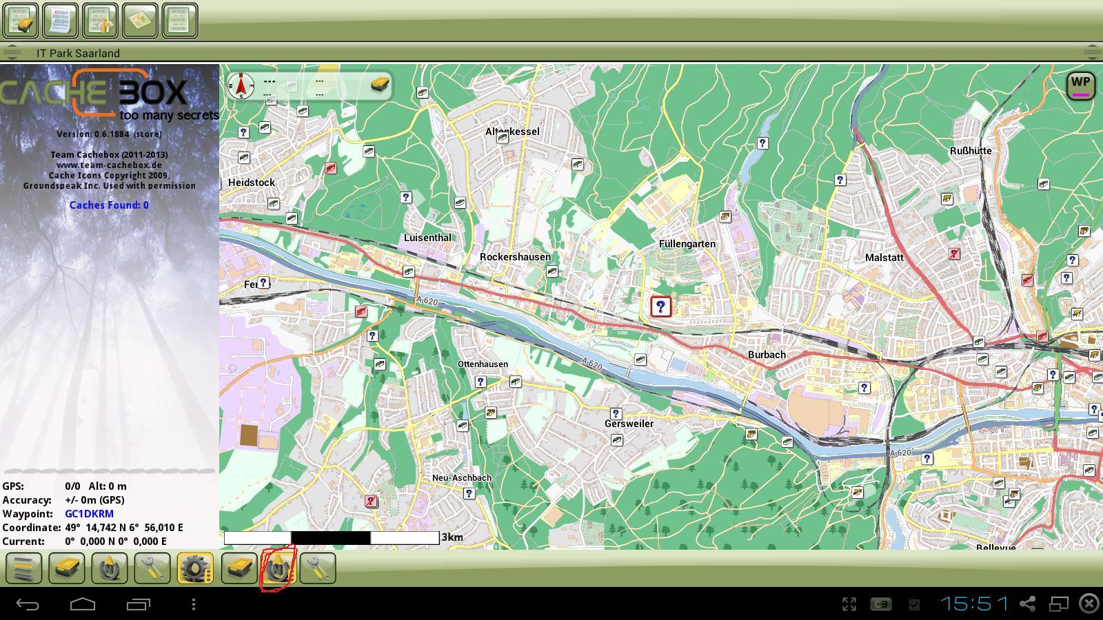 Karte Mit Markierungen Erstellen Kostenlos.Offline Karten Kostenlos Für C Geo Und Cachebox Saarfuchs On Tour