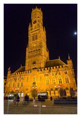 Belfried in der Altstadt von Brügge