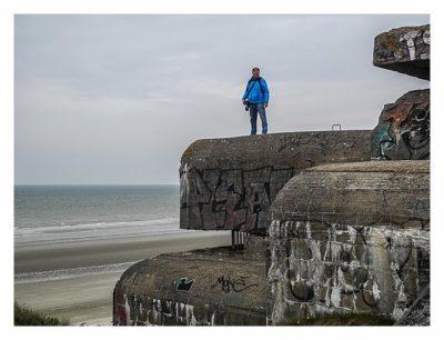 LP: Atlantikwall - MKB Malo Terminus - Saarfuchs auf dem Dach des Leitstandes