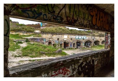 LP: Atlantikwall - MKB Malo Terminus - Gebäude im Fort