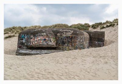 Atlantikwall - Stp Adolf - Meßstelle im Sand versunken