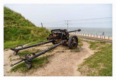 LP: Atlantikwall - Stp Tirpitz (Museum Raversyde) - Panzerabwehrkanone