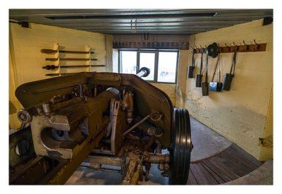 LP: Atlantikwall - Stp Tirpitz (Museum Raversyde) - Pak im Bunker