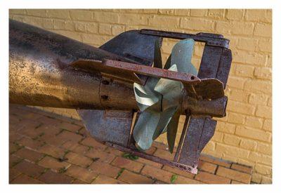 LP: Atlantikwall - Stp Tirpitz (Museum Raversyde) - Torpedoschraube