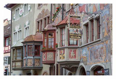 Sightseeing in Stein am Rhein - Schmuckvolle Fassaden