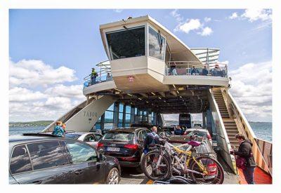 Konstanz: Sightseeing & Geocaching - Auf der Fähre