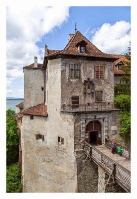 Meersburg: Sightseeing & Geocaching - Eingang zur Burg