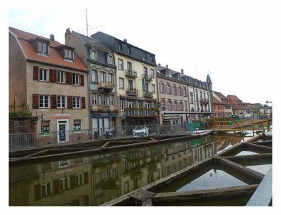 Radtour von Saarbrücken nach Straßburg: Saverne am Kanal