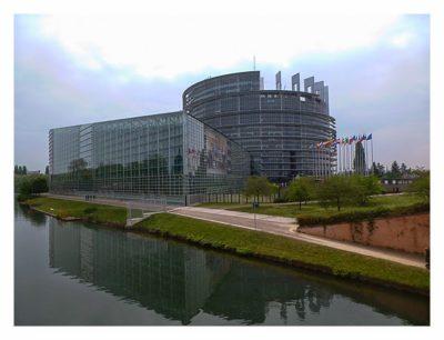 Radtour von Saarbrücken nach Straßburg: Europaparlament
