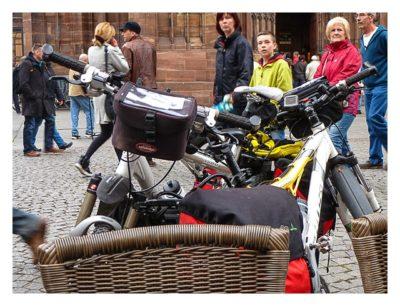 Radtour von Saarbrücken nach Straßburg: Unsere Räder