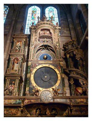 Radtour von Saarbrücken nach Straßburg: Astronomische Uhr