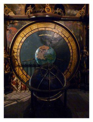 Radtour von Saarbrücken nach Straßburg: Astronomische Uhr Details