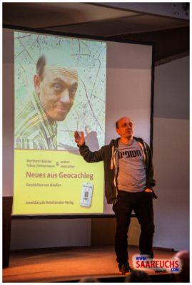 Bernhard Hoecker bei Big Äppel - Neues aus Geocaching