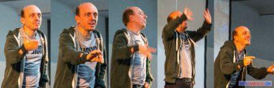 Bernhard Hoecker bei Big Äppel - Bernhard in Bewegung