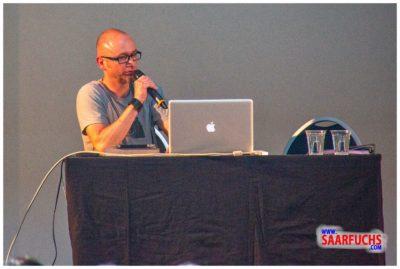 Bernhard Hoecker bei Big Äppel - Tobias Zimmerman an der Technik