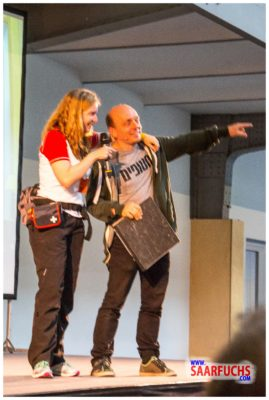 Bernhard Hoecker bei Big Äppel - Bernhard und Annika