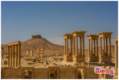 Die Ruinen von Palmyra Ende 2008