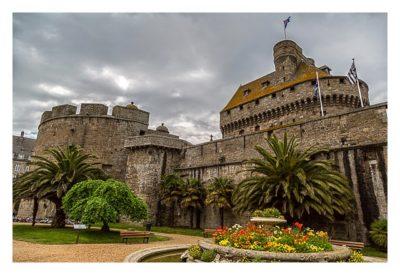 Saint Malo - Stadtmauer und Festung