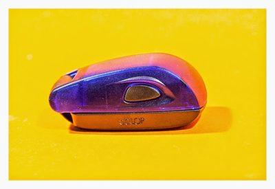 Geocaching-Stempel-Test: Stamp Mouse von Colop - Gehäuse