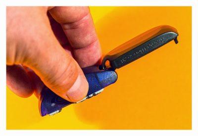 Geocaching-Stempel-Test: Stamp Mouse von Colop - Handhabung
