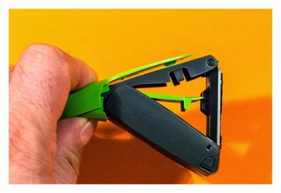 Geocaching-Stempel-Test: Mobiler Taschenstempel von Trodat - Handhabung