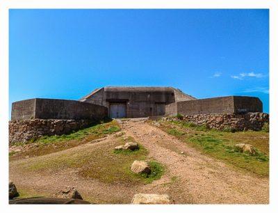 Jersey - Corbiere - Bunker am Meer