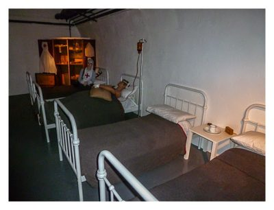 Jersey - War Tunnels - Krankenzimmer