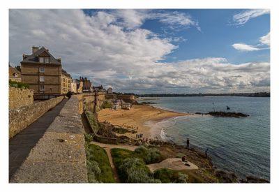Saint Malo - Geocaching in historischer Kulisse - Stadtmauer