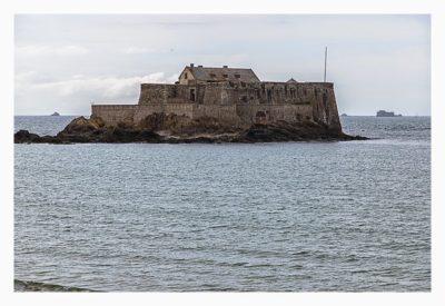 Saint Malo - Geocaching in historischer Kulisse - Fort Nationale