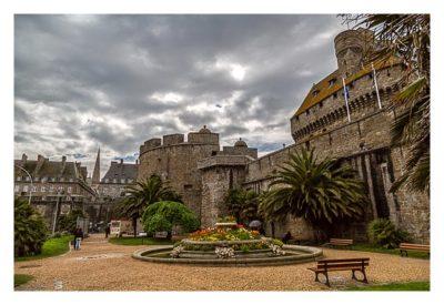 Saint Malo - Geocaching in historischer Kulisse - Park vor der Burg