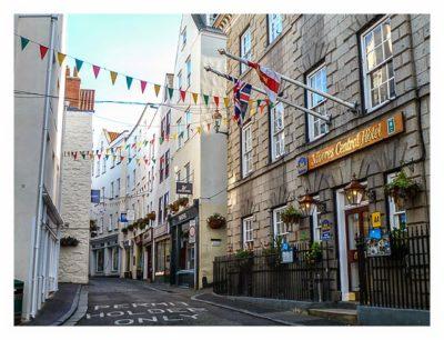 Guernsey - St. Peter Port - Einkaufsstrasse