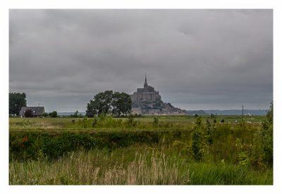 Mont Saint Michel - Blick vom Parkplatz