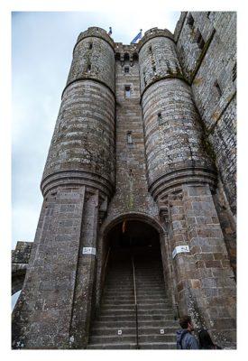 Mont Saint Michel - Das Eingangspoertal