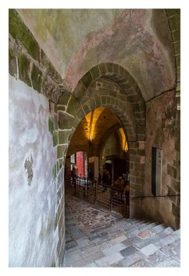 Mont Saint Michel - Hinter der Kasse