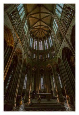 Mont Saint Michel - In der Kathedrale